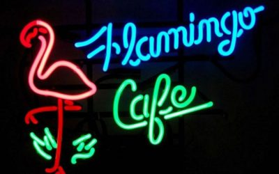 Join Poet Marion Frazer at Neon Flamingo Cafe